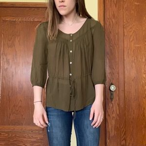 J. Crew Tops - Button down blouse